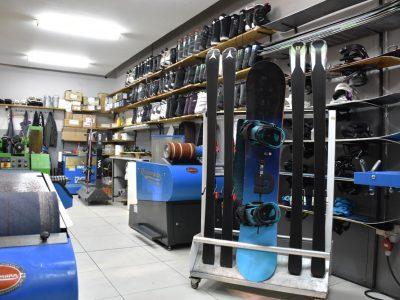 Snowboard servis